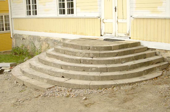 Stairs made of stone