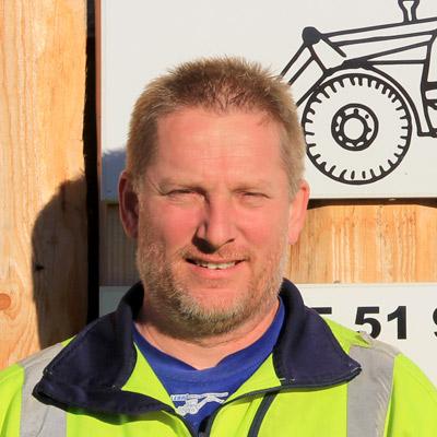Portrait of Kjell Lennmark