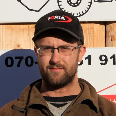 Portrait of Fredrik Andersson
